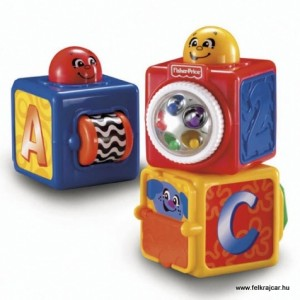 Fisher Price kockák